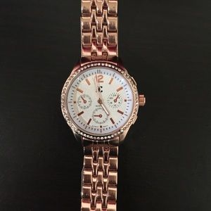 Charming Charlie women watch rose gold